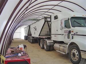 Storage Building for Semi truck
