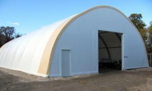 46 wide Portable Building 2 Doors