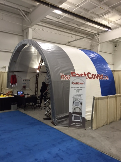 Fastcover Booth