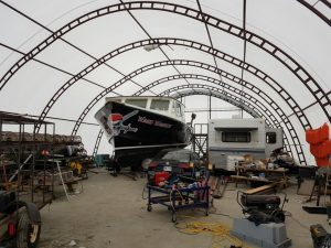 Fishing Boat Storage and Maintenance
