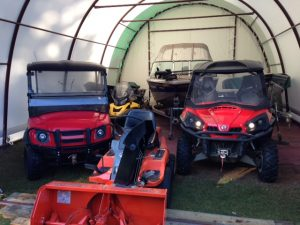 Storage for Boats, ATVs, Snowmobiles