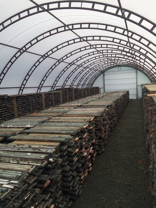 fabric structures for mining operations