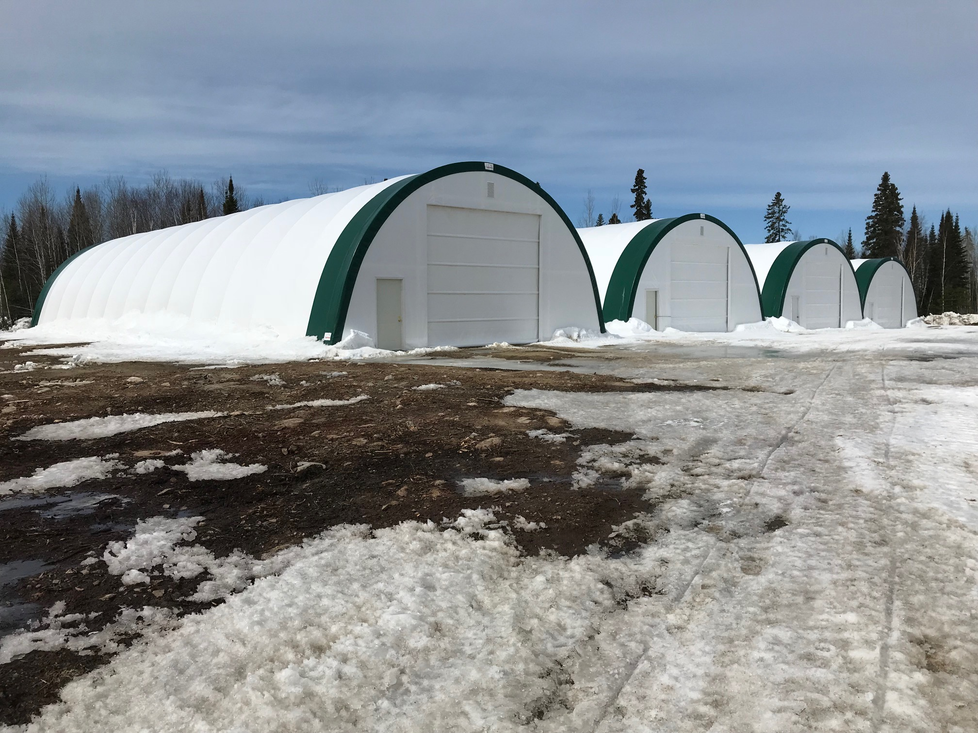 fastcover portable fabric buildings