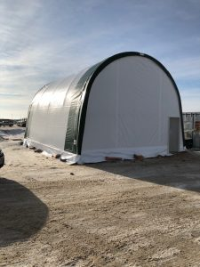 insulated fabric building