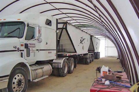 On Farm Grain Truck Storage